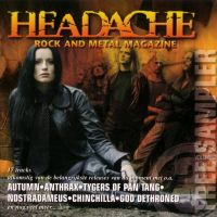 Cover - Headache, Rock And Metal Magazine sampler vol 3. - 2004